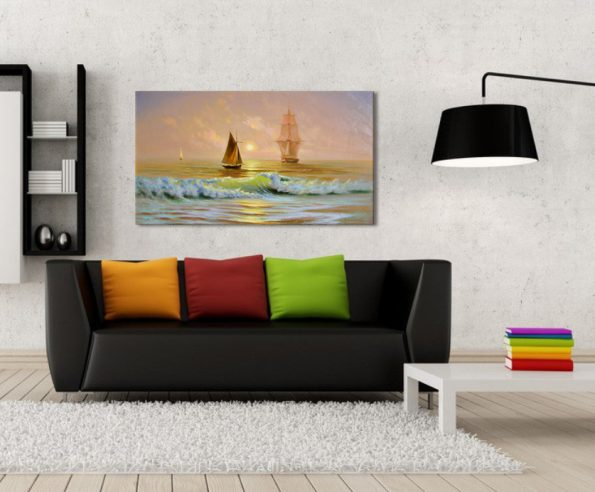 Ships on the ocean-GAM178-B